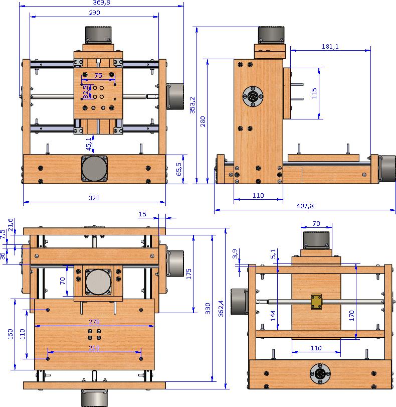 3д фрезерный станок с чпу по дереву своими руками чертежи ардуино 43